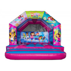 12x12 A Frame Bouncy Castle Dora