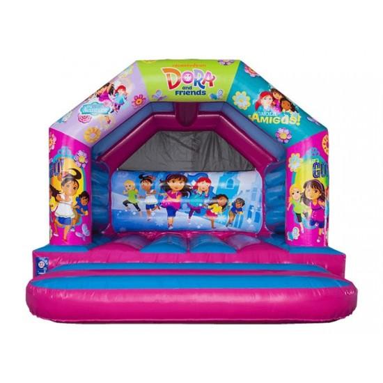 12x12 A Frame Bouncy Castle Dora
