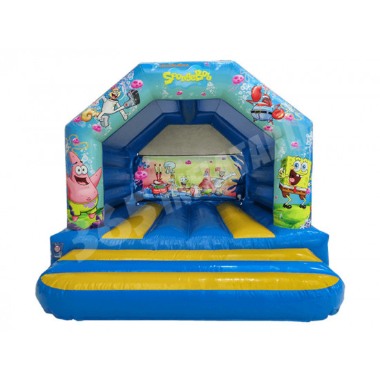 A Frame Bouncy Castle Spongebob