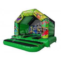 A Frame Bouncy Castle Tmnt