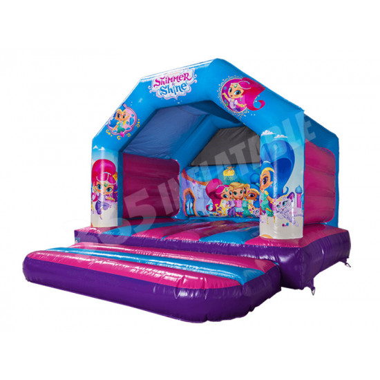 Ajl Bouncy Castle Shimmer And Shine