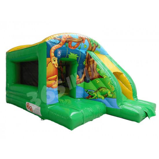 Jungle Jump Slide Combi