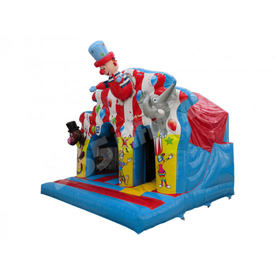Clown Play Slide Disco Ready