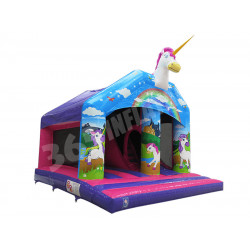 Unicorn Bouncy Slide