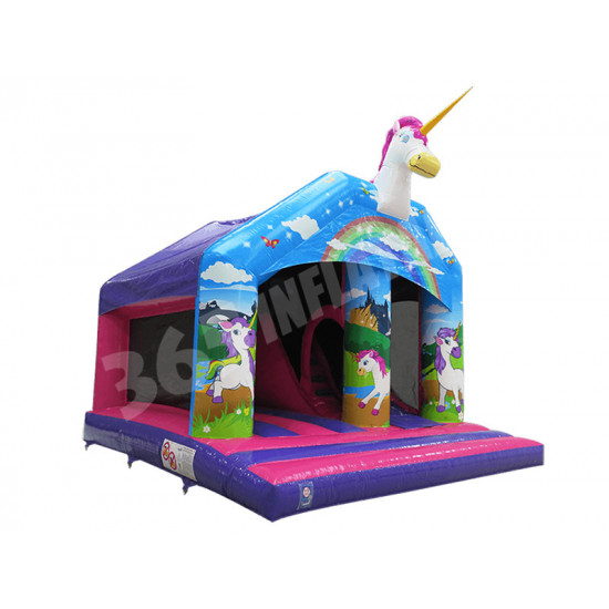 Unicorn Bouncy Slide