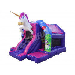 Unicorn Front Slide Bouncer