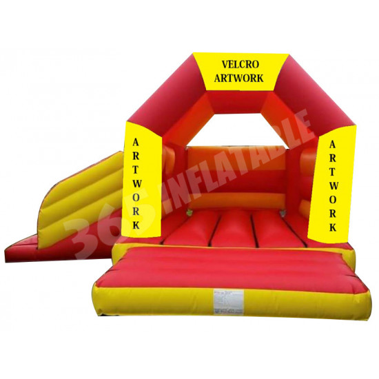 Velcro Arched Roof Castle Slide Combo