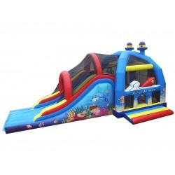 C2j Bouncy Castle With Slide