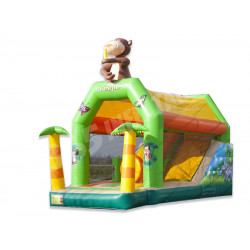 Jungle Bouncy Castle Combo