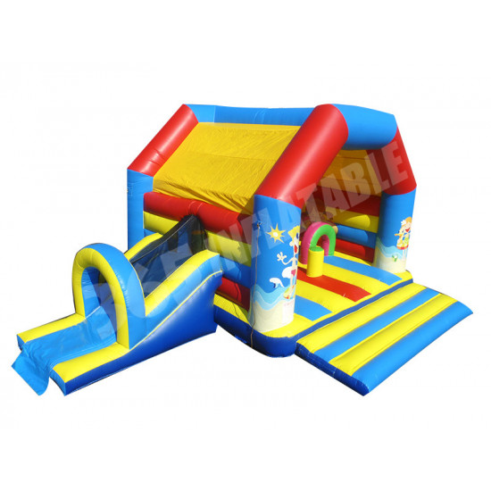 Beach Bouncy Castle Slide