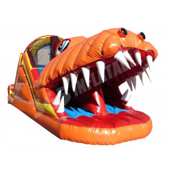 Happy Jump Gator Slide