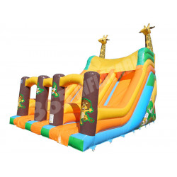13ft Platform Giraffe Double Slide