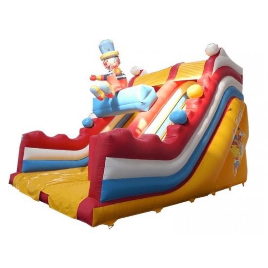 Clown Slide With 3d Figure