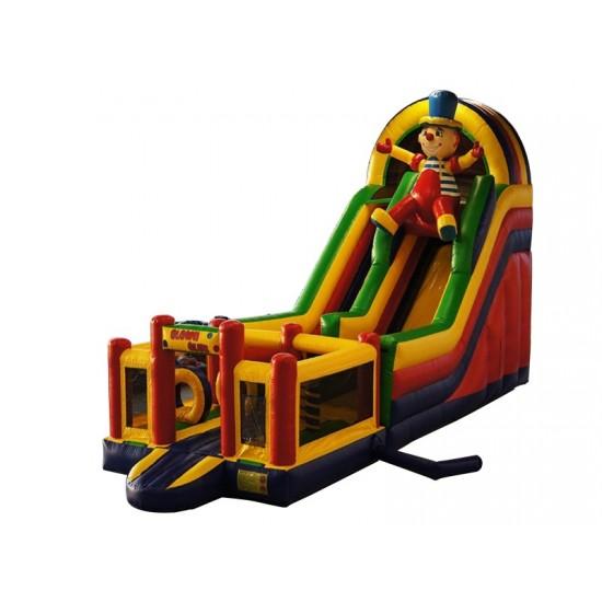 Inflatable Multiplay Clown Slide