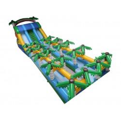 Palm Tree Inflatable Slide
