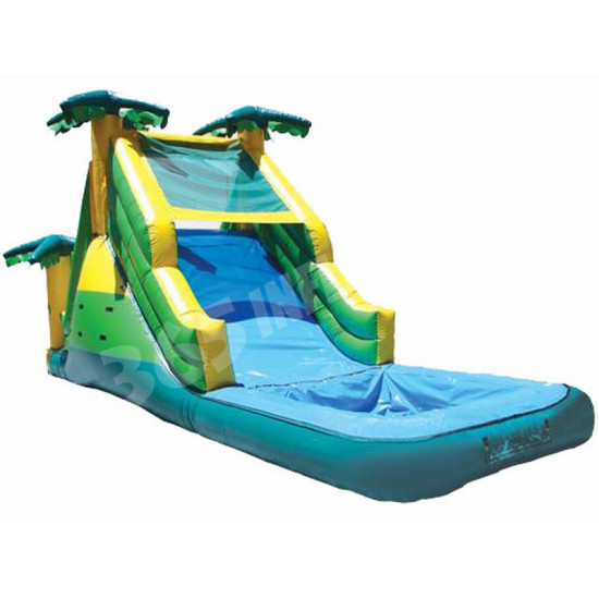 Inflatable Bouncy Castle With Water Slide