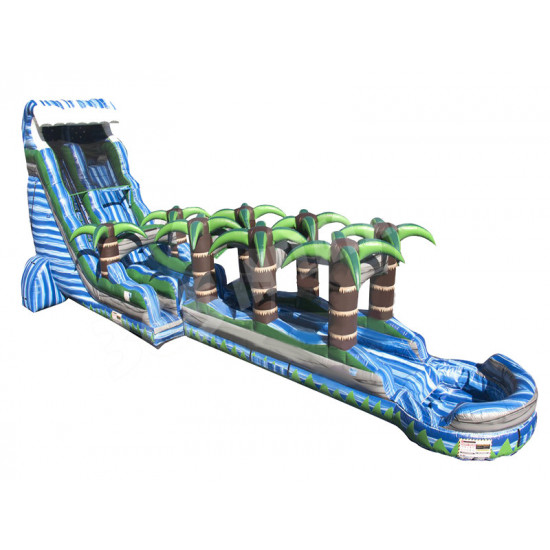Inflatable Blue Crush Tsunami Slip N Slide