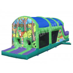 Inflatable Jungle Assault Course