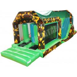 Inflatable Army Assault Course