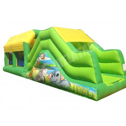 Indoor Inflatable Assault Course
