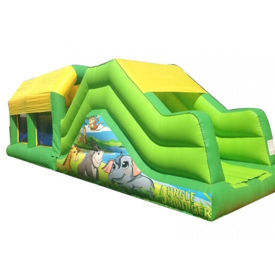 Indoor Inflatable Assault Course
