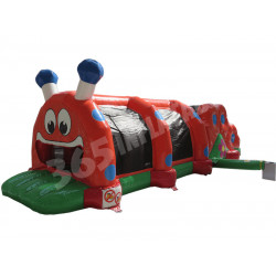 Inflatable Caterpillar Obstacle Course