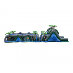 70ft Blue Crush Obstacle Course