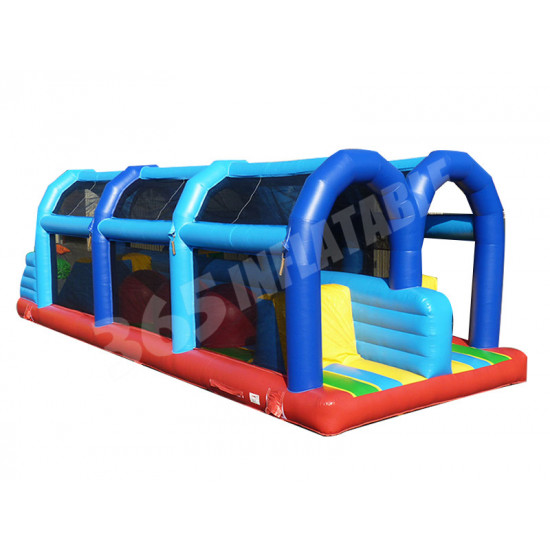 Inflatable Wipeout Double Tracks