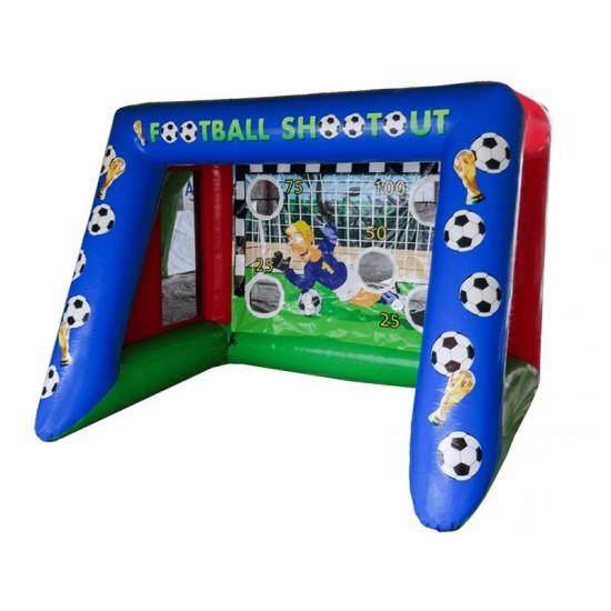 Football Shootout With Air Jugglers