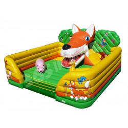Enfants Inflatable Playzone