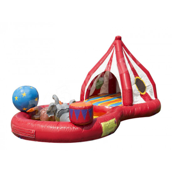 Circus Playzone Toddler Bouncy Castle