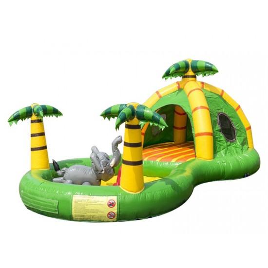 Jungle Playzone Toddler Bouncy Castle