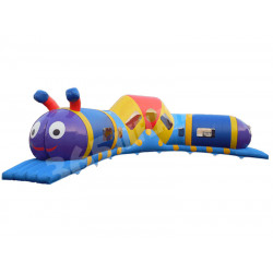 Inflatable Caterpillar Crawl