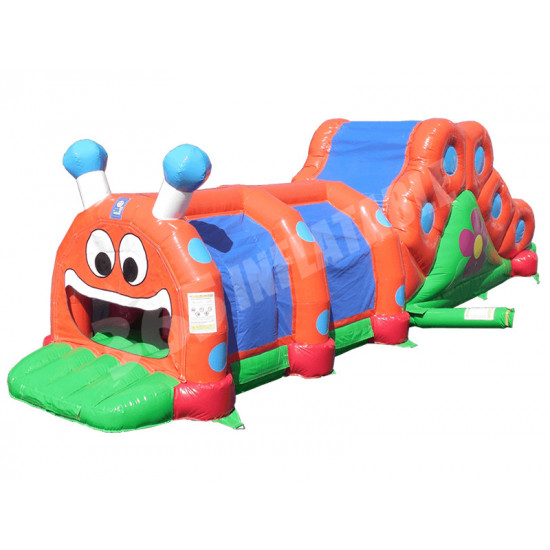 Inflatable Caterpillar With Slide