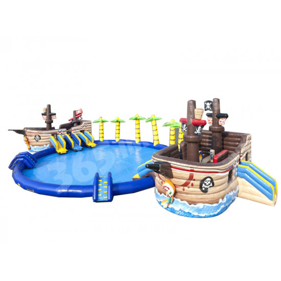 Pirateship Battle Waterpark