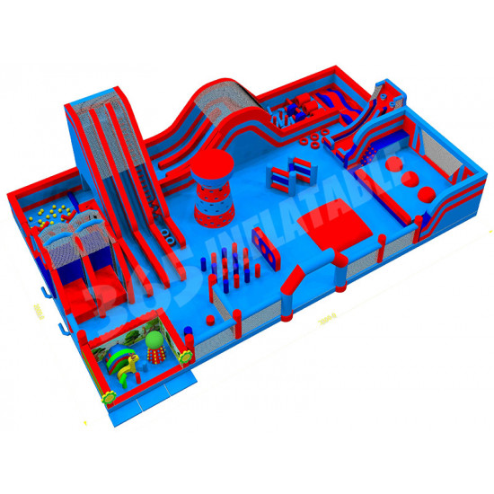 Bouncy Castle Inflatable Park