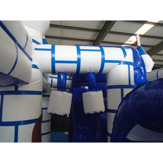 Knight Inflatable Castle With Slide