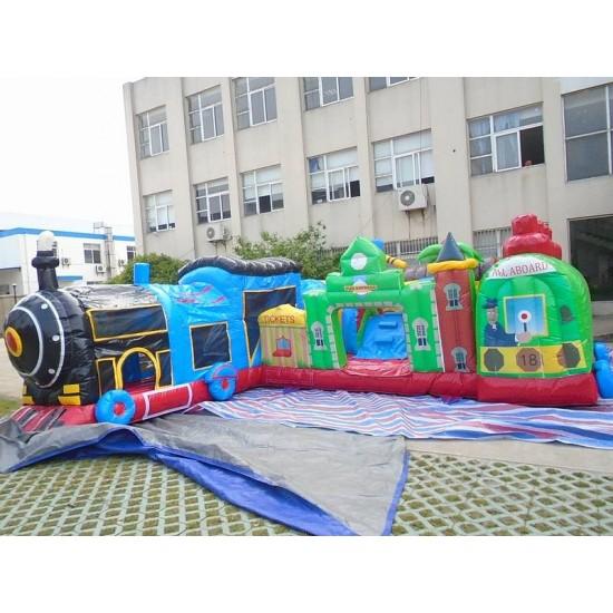 Fun Train Station Junior Bounce House