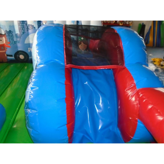 Inflatable Rescue Squad Junior Bounce House