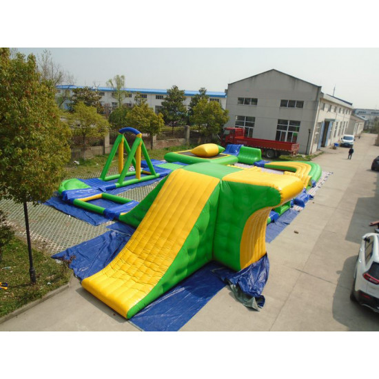 Inflatable Water Assault Course
