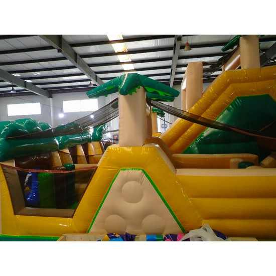 World's Biggest Inflatable Obstacle Course